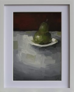 Pear With Plate 2b