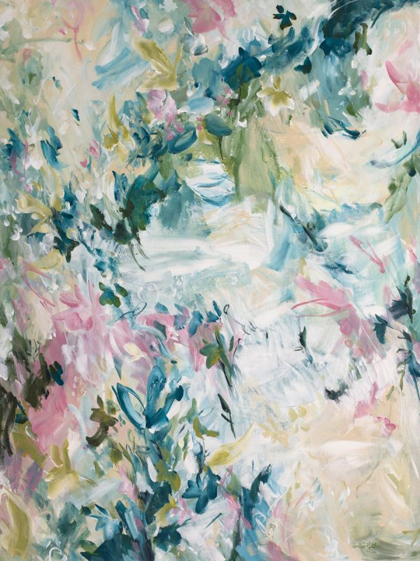 Seasonal Crush By Abstract Artist Amber Gittins