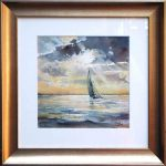 Sunrise – Original Watercolour – framed