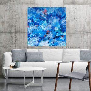 Mock Up Poster In Living Room, Minimalism Interior Design, 3d Il