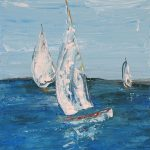Sailing boats – Sunday blues