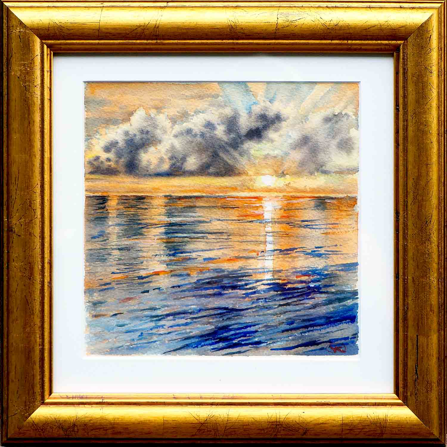Sunrise 20 Web Framed