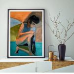 Abstract Female Nude Figurative