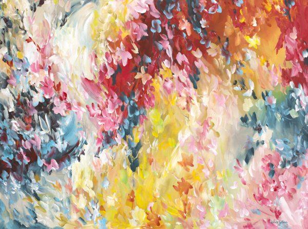 Butterfly Oasis By Australian Artist Amber Gittins