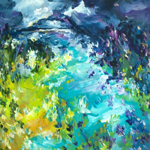 Estuary Flow By Australian Artist Amber Gittins