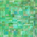 Field Study II – abstract woven paper in green