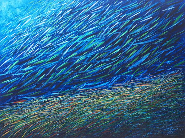 Fish With Sea Grass 2 Lr