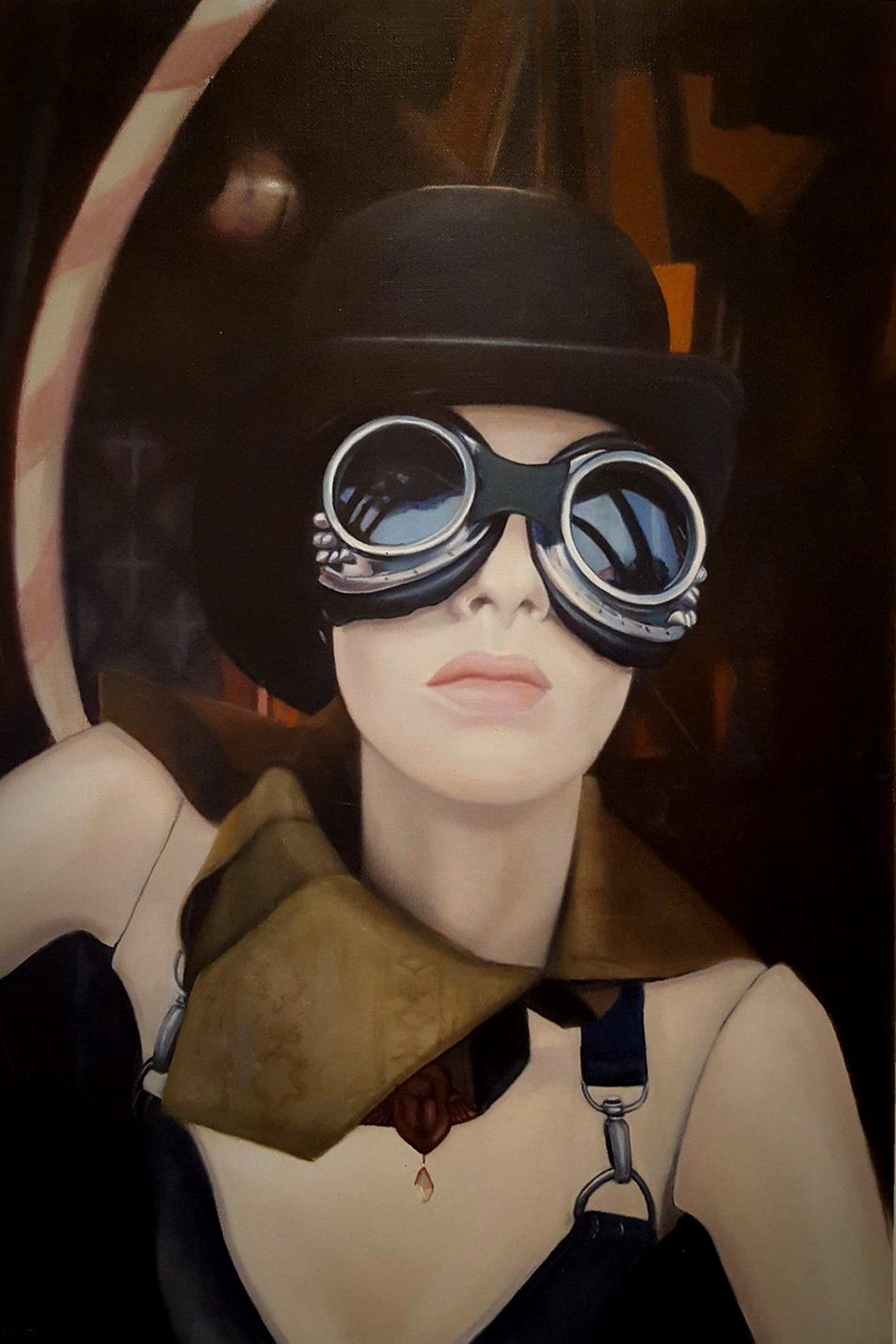 Steam Punk Mannequin With Reflections Sally Davis