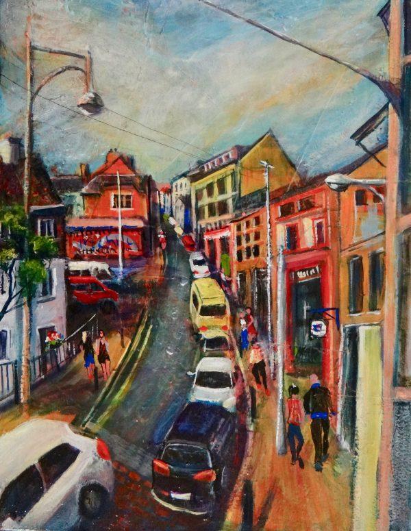 Summer Street Scene (s)