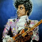The Purple Rain Tour Ltd Ed Art Print of 50
