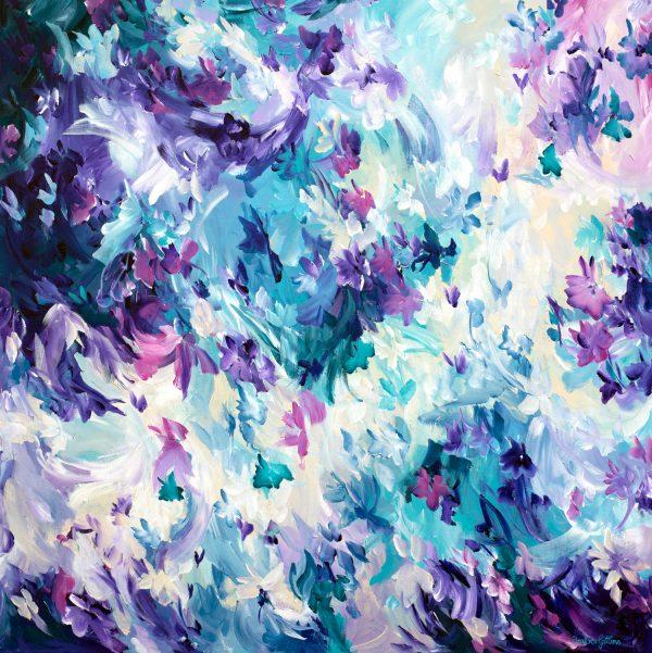 Violet Spell By Australian Artist Amber Gittins