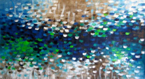 Belinda Nadwie Art Abstract Painting Rain Dancer Copy