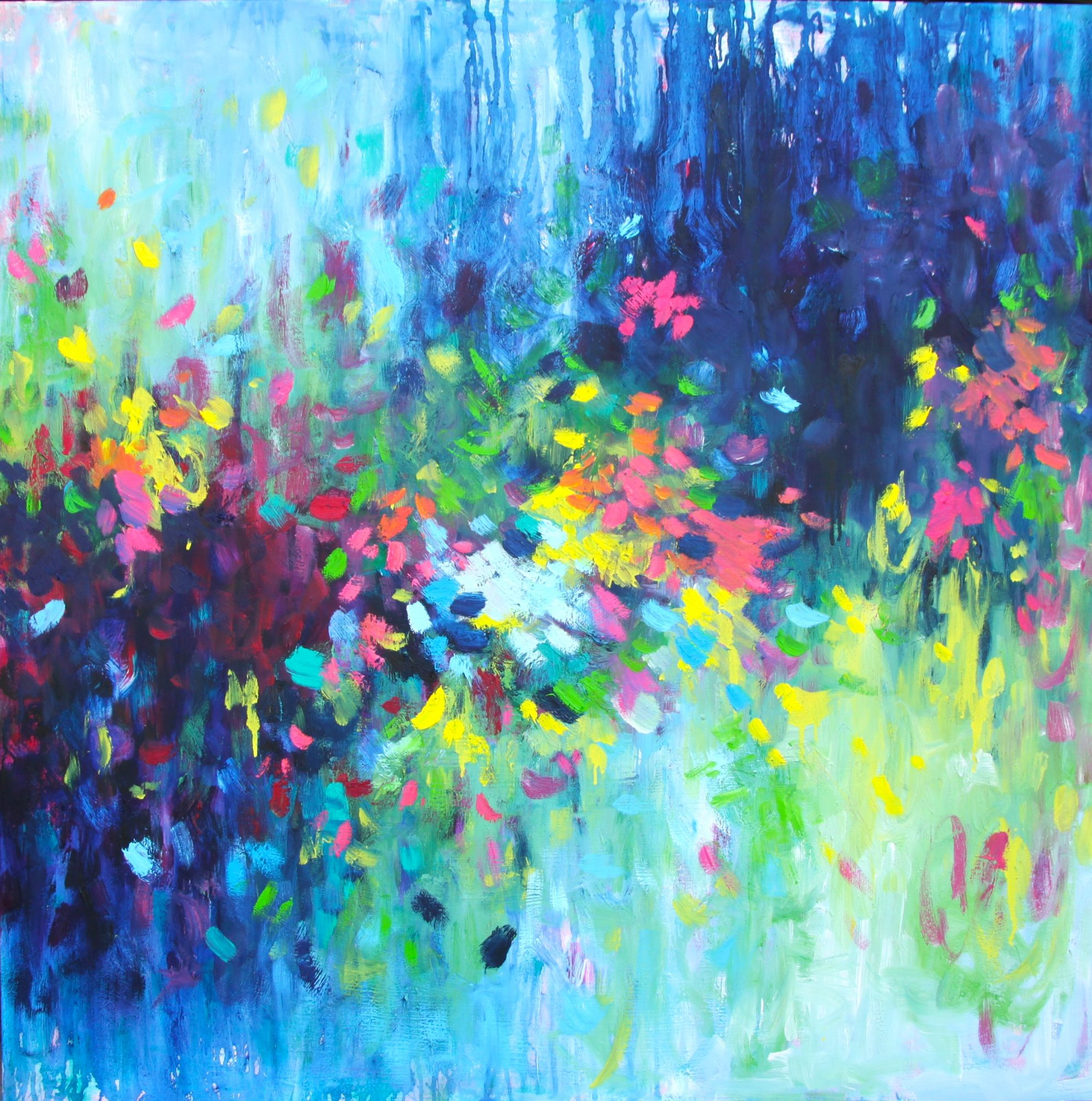 Belinda Nadwie Art Abstract Painting Singin From The Heart