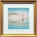 Infinity – framed – Original Watercolour