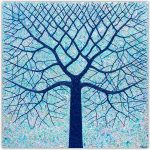 Deep Blue Ocean Tree – SOLD