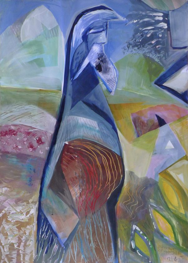 Works On Paper 12'18 Portrait Of Gurjief