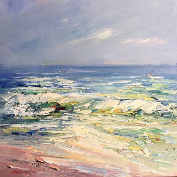 122 Colors Of The Ocean 3, 61x61cm