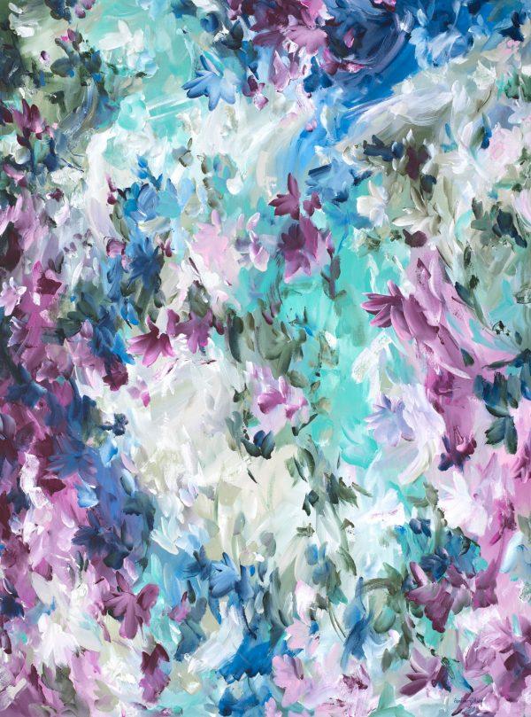 Beautiful Destination By Abstract Artist Amber Gittins