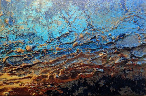 """Canvas Wall Art Print For Sale """"spurs Gold"""" By Petra Meikle De Vlas"""
