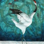 Dancing in the Snow – Japanese Crane Ltd Ed Print