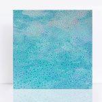 Soft seas II – blue beach abstract