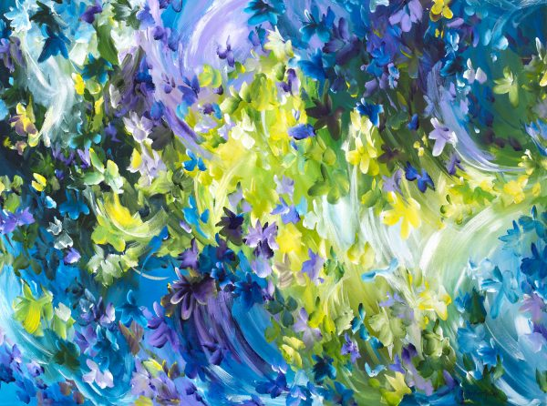 Sweet Memories By Australian Abstract Artist Amber Gittins