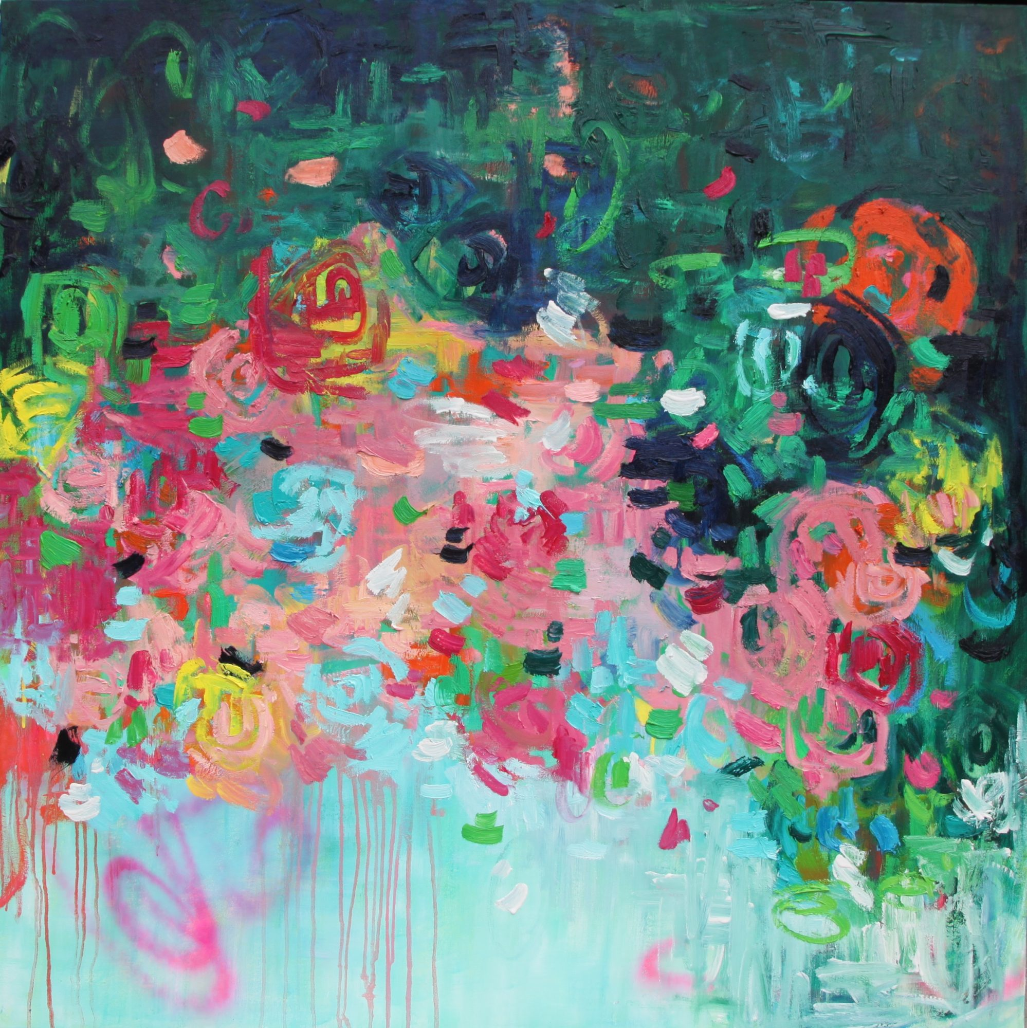 Belinda Nadwie Art Abstract Painting Art Lovers Australia Eyes On You