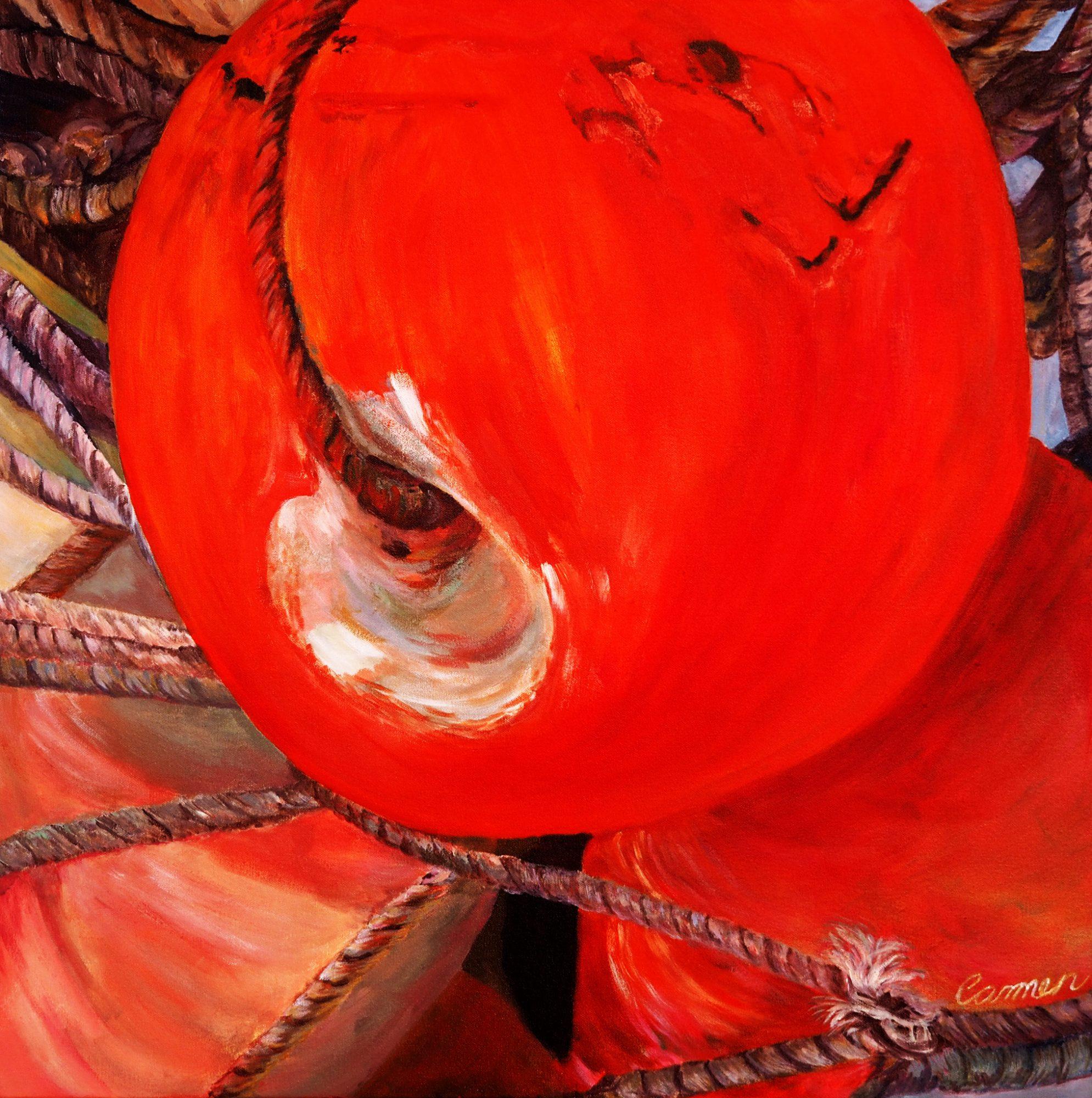 Orange Float Art Lovers
