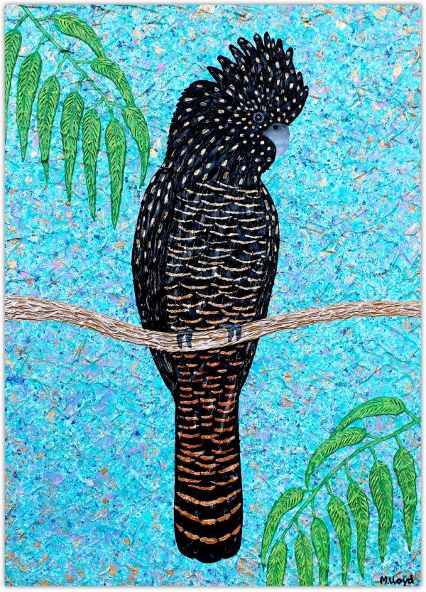 1 Red Tailed Cockatoo Miranda Lloyd Artist