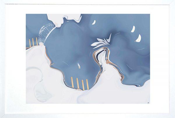 Circular Quay Blue Framed