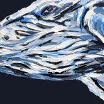Humpback Whale on Charcoal Seas