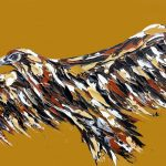 Yellow Ochre Wedge Tailed Eagle