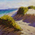 Australian beach painting