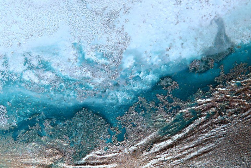 """ocean Channel"" Canvas Art Print By Petra Meikle De Vlas6"