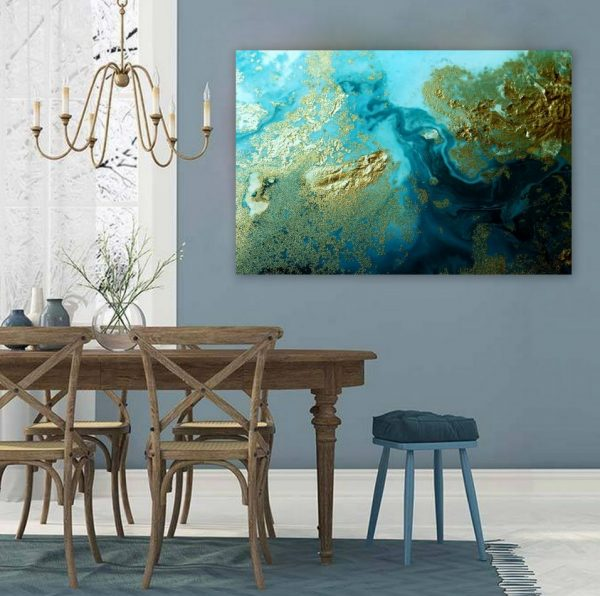 """oceania Flow"" Canvas Art Print By Petra Meikle De Vlas3"