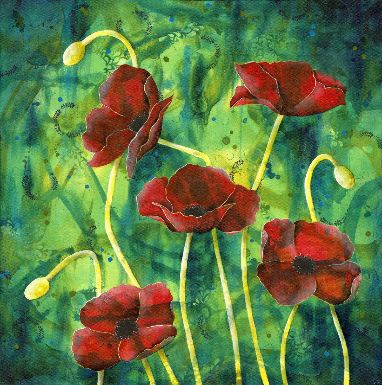 Square Poppies