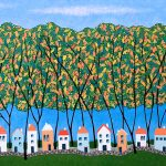 Tiny Town Under The Autumn Trees no.1