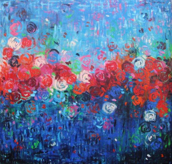 Belinda Nadwie Art Abstract Painting A Brighter Day