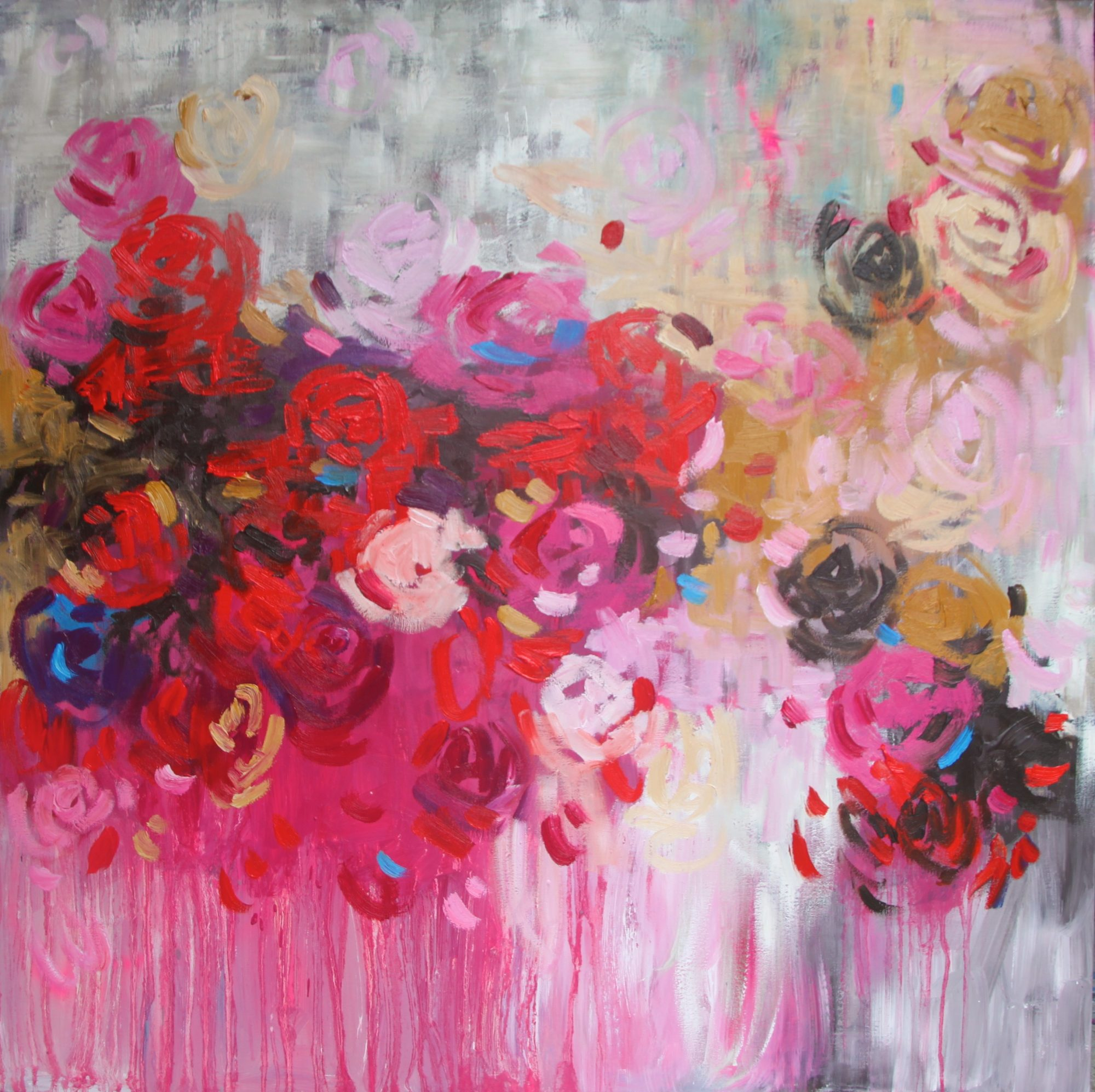 Belinda Nadwie Art Abstract Painting Feels Like Love