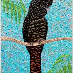 Red Tailed Black Cockatoo – SOLD