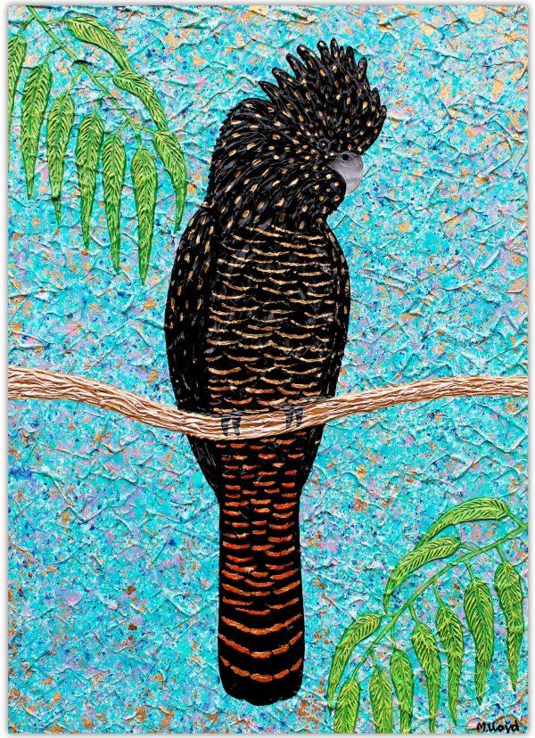 Black Cockatoo New Miranda Lloyd Artist