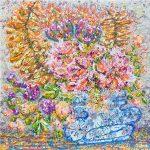Dreamy Florals in Wonky Vase
