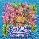 Floral explosion in Retro Vase