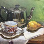 Tea time – Still life ready to hang