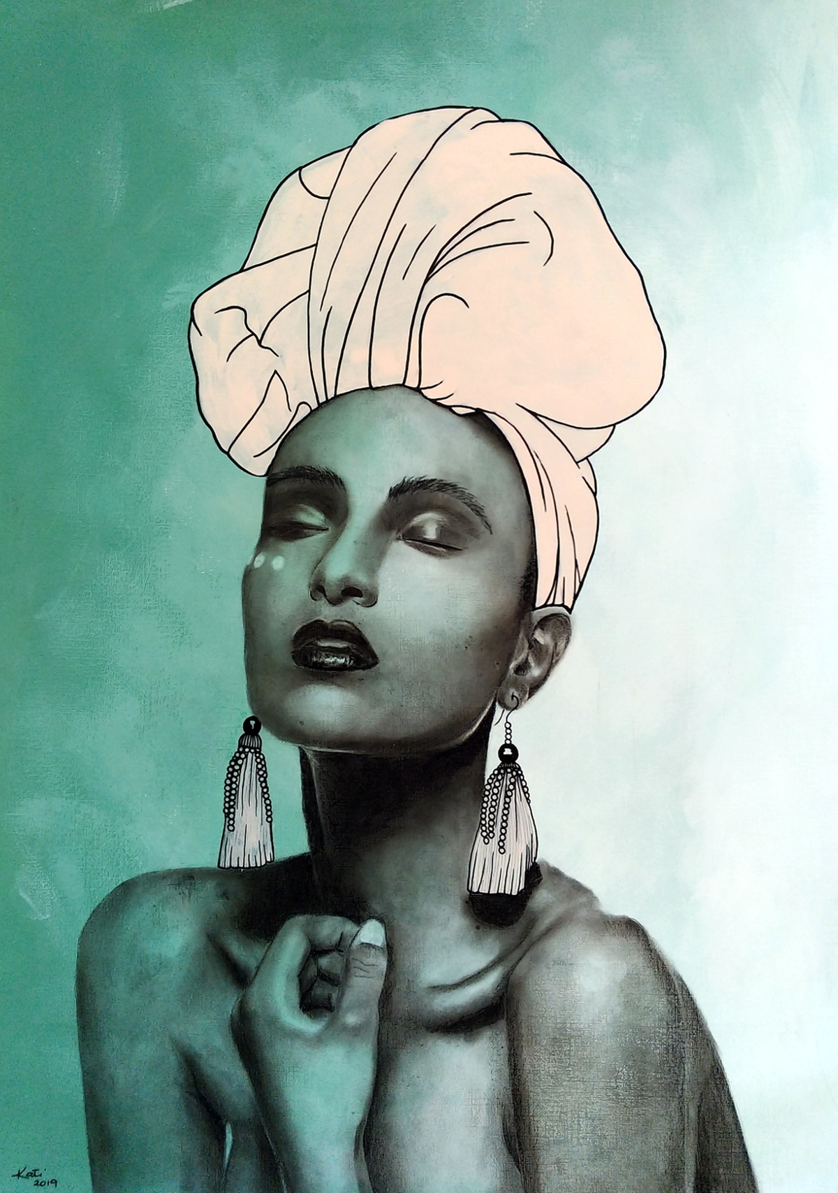 Faith Ethnic Art By Kati Garrett Filho Main