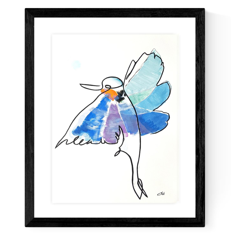 Kingfisher Male Framed