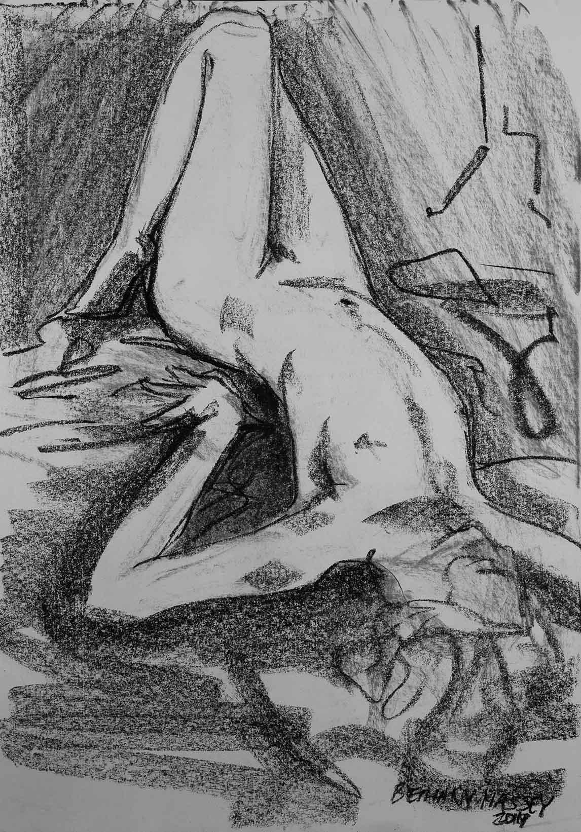 Life Drawing 13032019 B