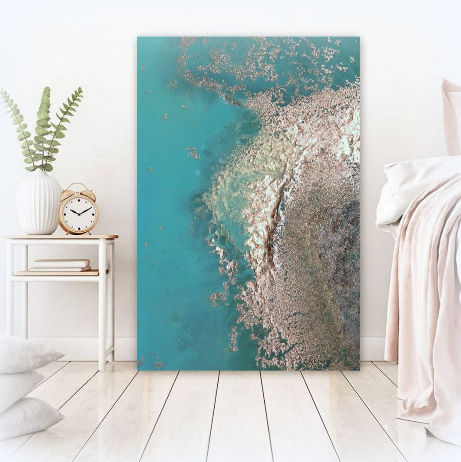 """""""paradise Cove"""" Ocean Art Canvas Print For Sale By Petra Meikle De Vlas7"""