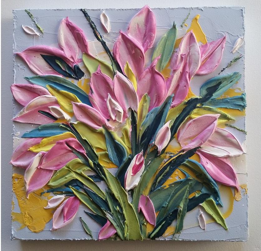 Pastel Bouquet Crop