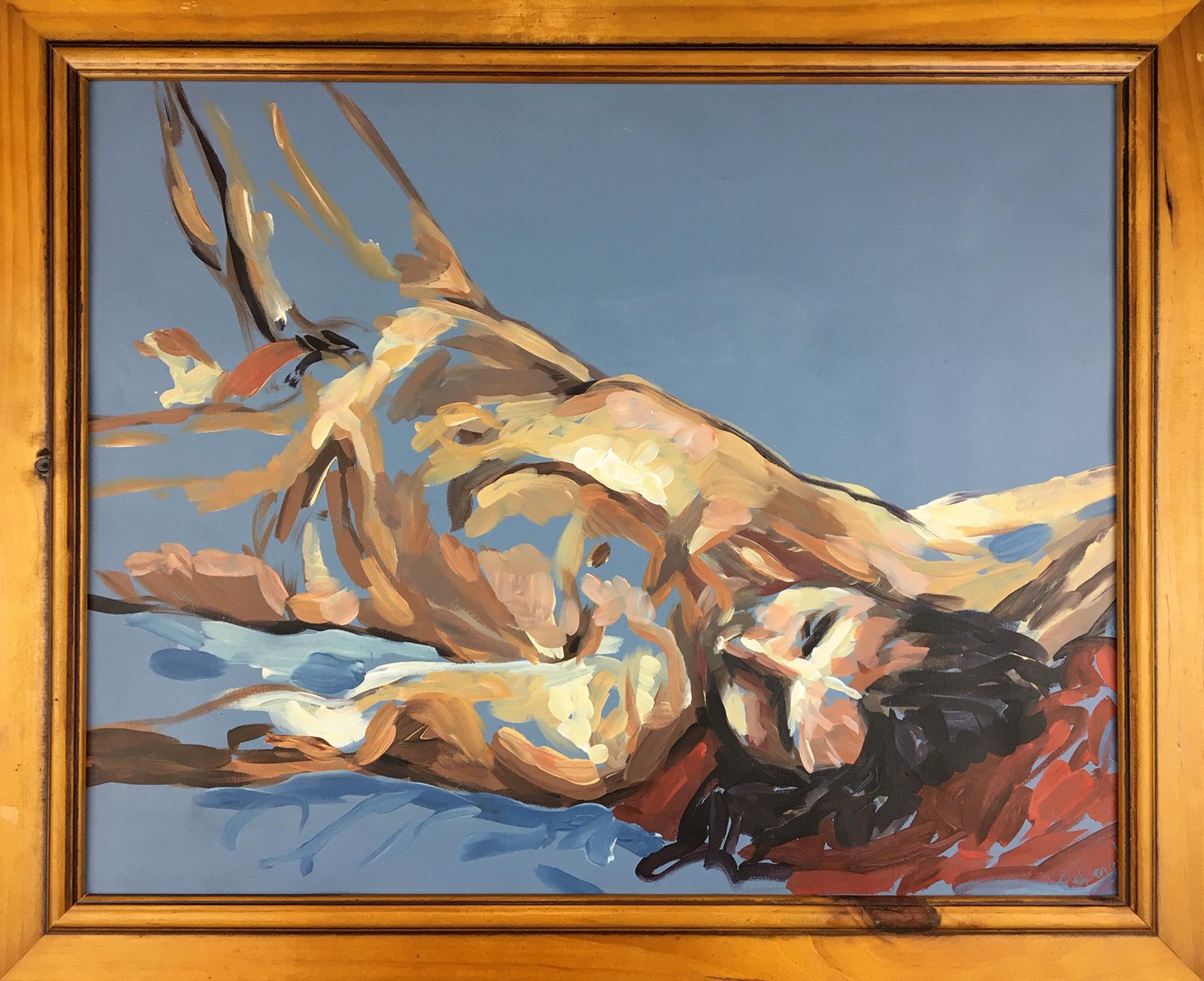 Reclining Male Lambton Life Painting